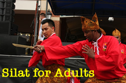 silat for adults